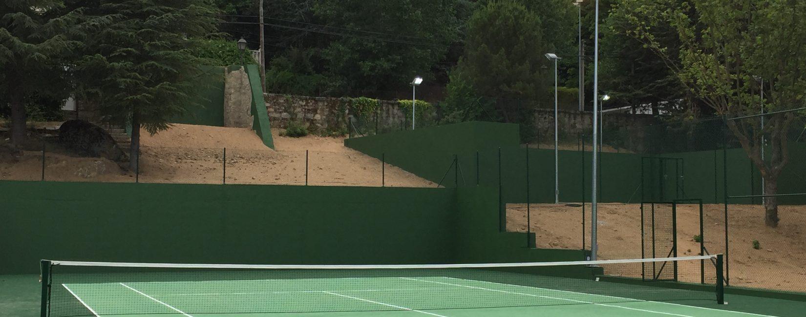 Obra Dotacional - Pistas de Tenis